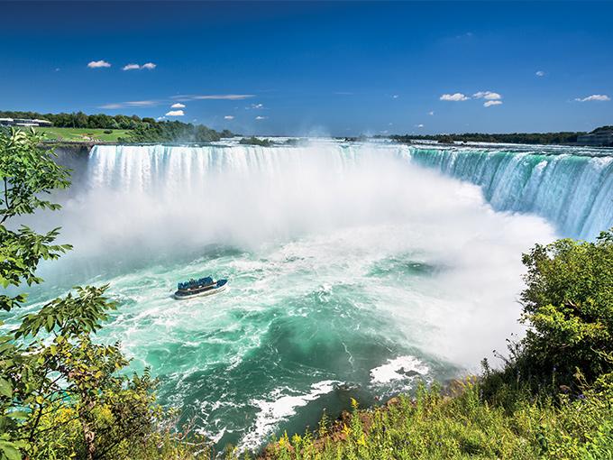 Image Amerique du Nord Etats Unis Chutes du Niagara