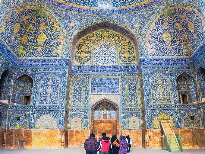 Image Asie Iran Ispahan la mosquee de imam