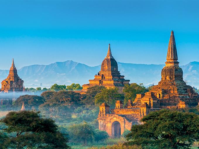 Image Asie Thailande Birmanie temples de Bagan