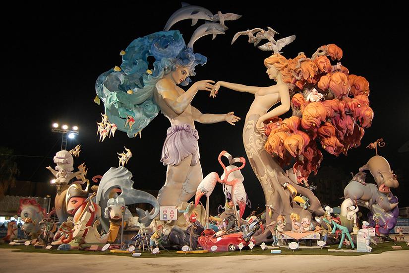 Image Espagne Valence les fallas 02