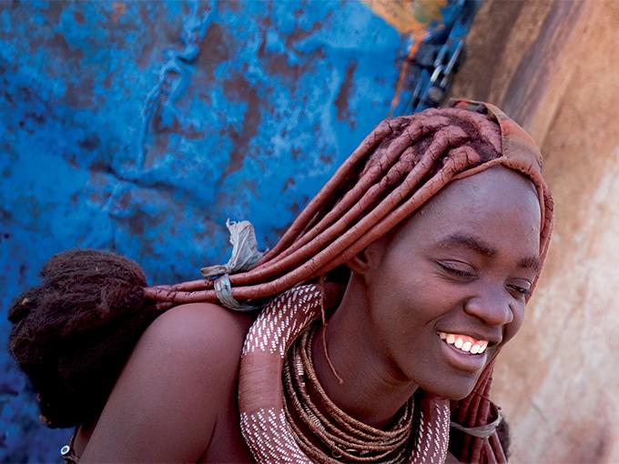 Image afrique namibie botswana femme himba