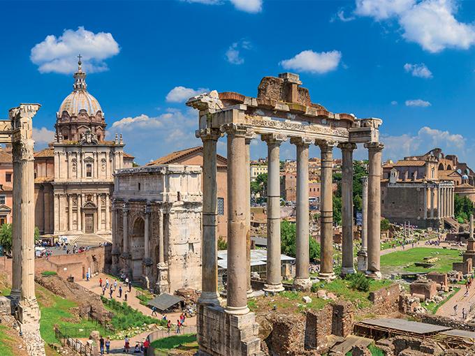 Image europe italie rome le forum