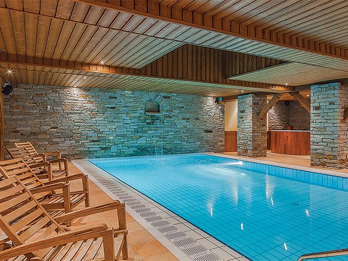 Image france savoie residence les balcons de belle plagne piscine
