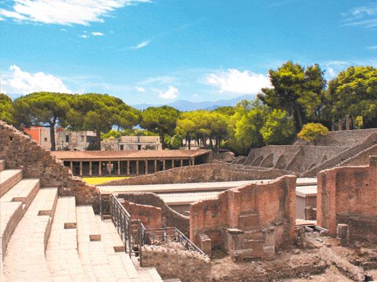 Image pompei ruines
