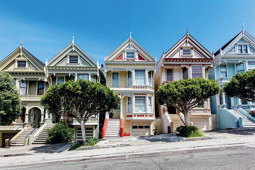 image 1 Dames peintes a la place Alamo a San Francisco en Californie aux Etats Unis 54 it 531327152