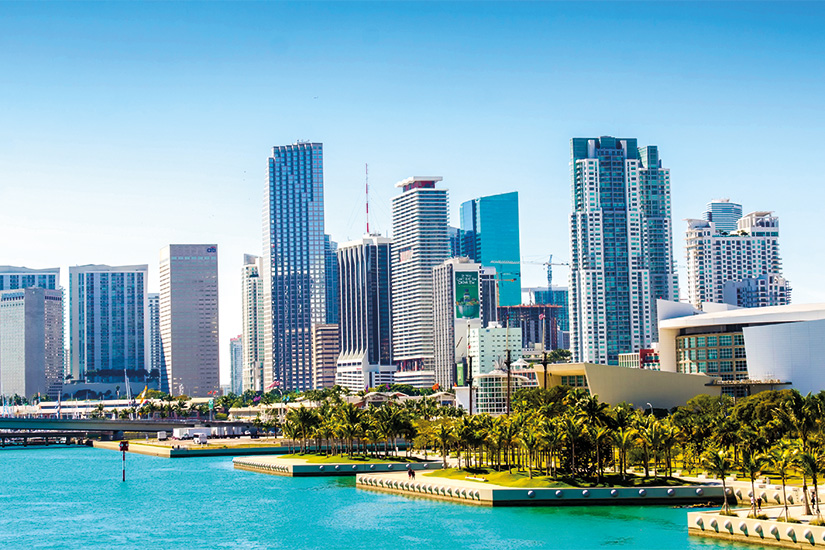 image 1 Vue panoramique de les en ville skyline miami floride Etats Unis 10 as_79919163