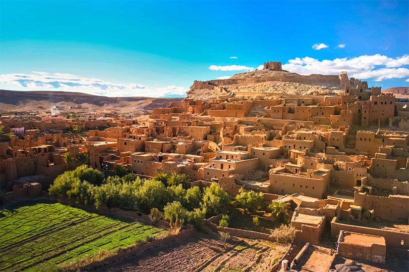 image Afrique du Nord Maroc Ouarzazate