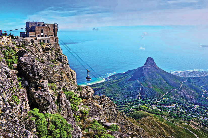 image Afrique du Sud Cape Town Vue Table Mountain  fo