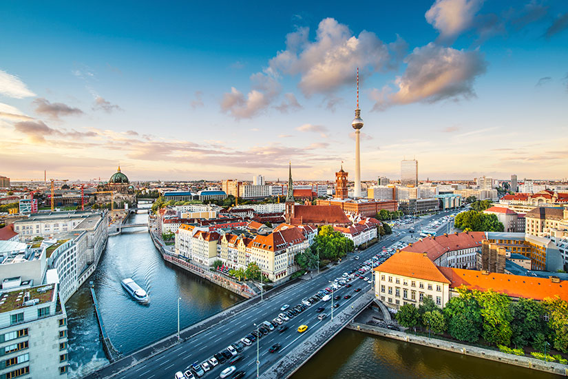 image Allemagne Berlin Horizon urbain  it