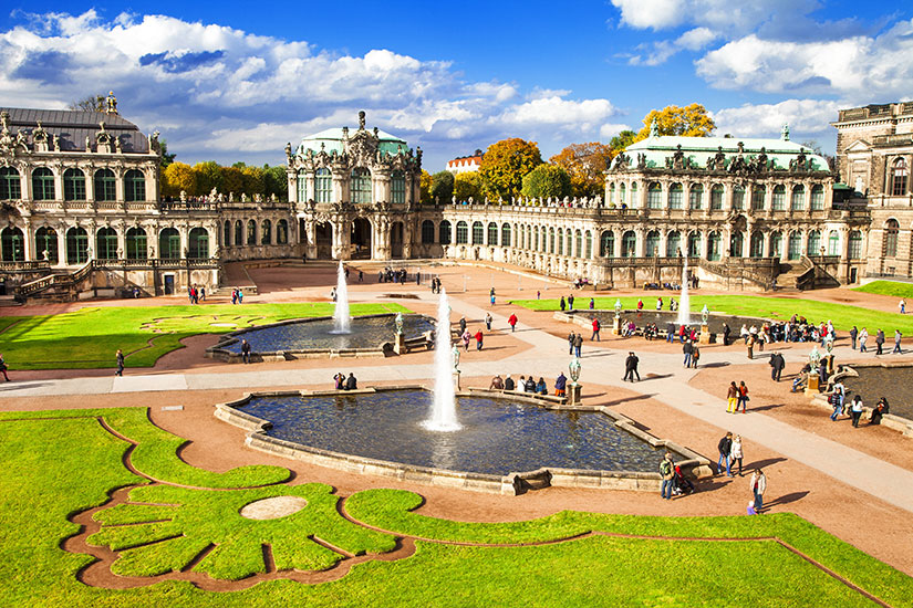 image Allemagne Dresde musee Zwinger  fo