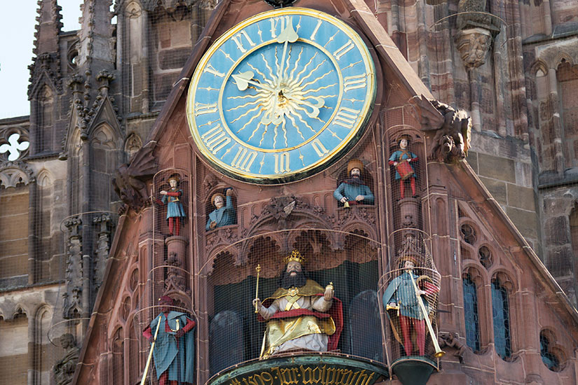 image Allemagne Nuremberg Frauenkirche eglise  fo