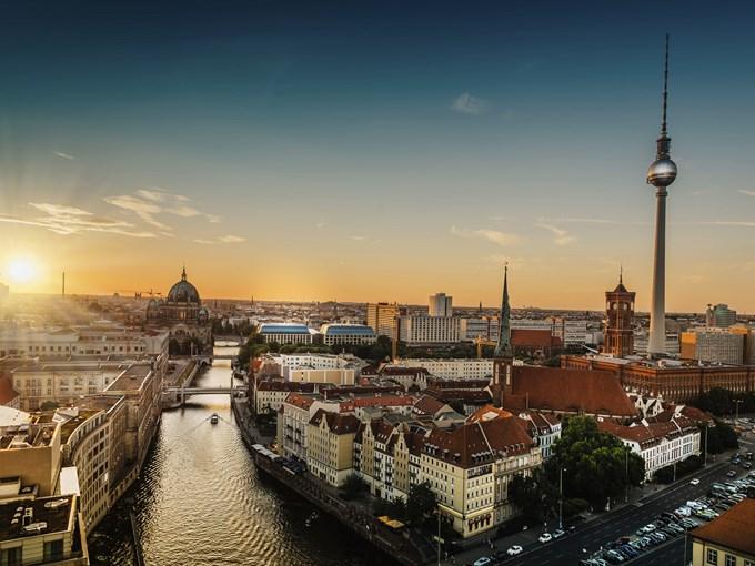 image Allemagne berlin vue aerienne