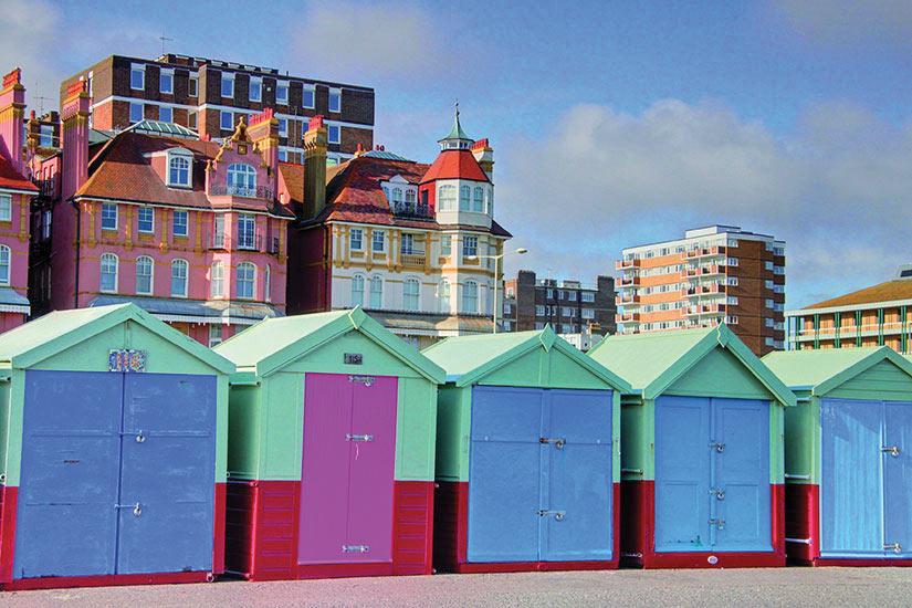 image Angleterre Brighton Cabines plage  fo
