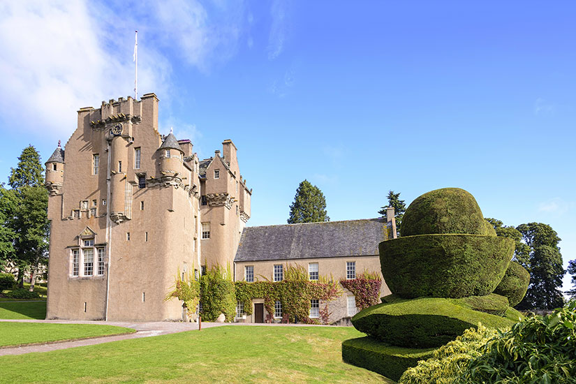 image Angleterre Crathes chateau  fo
