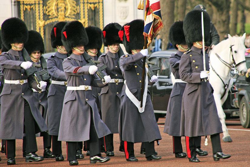 image Angleterre garde royale  fo