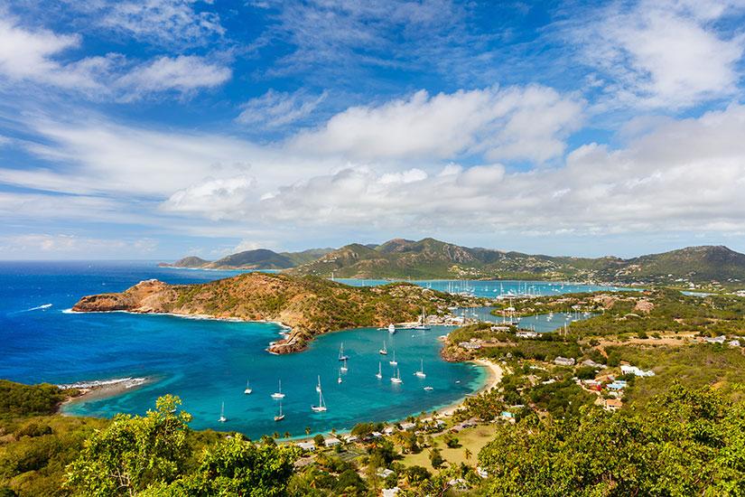 image Antigua et barbuda Antigua paysage  fo