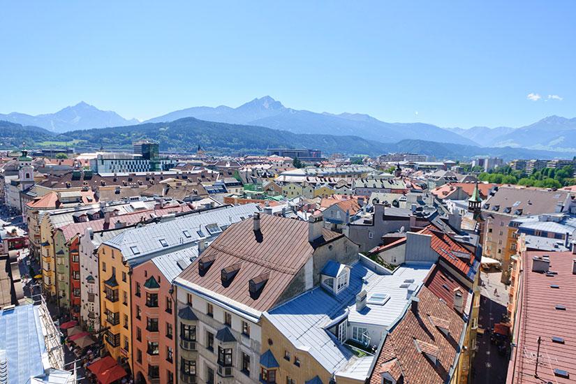 image Autriche Innsbruck Paysage urbain  it