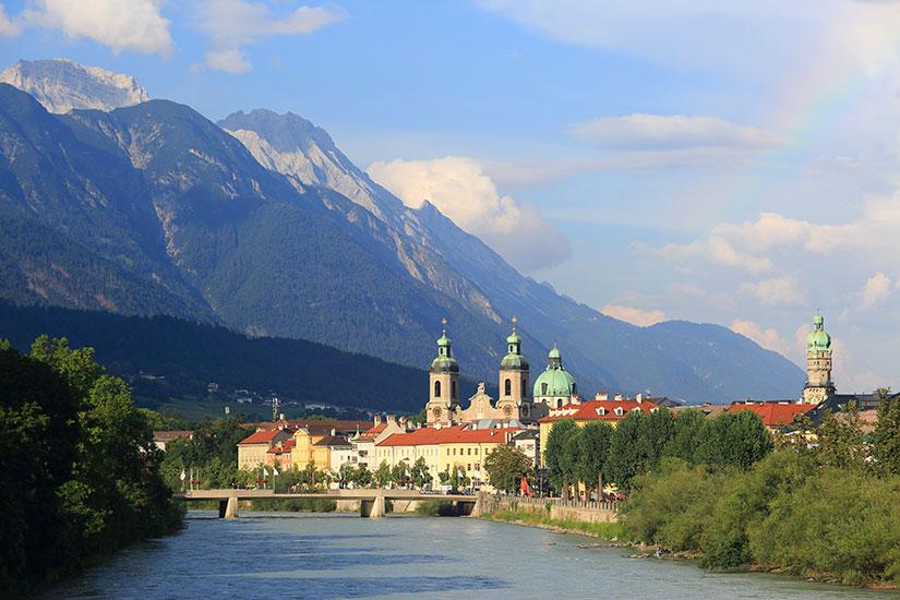 image Autriche Innsbruck panorama  it