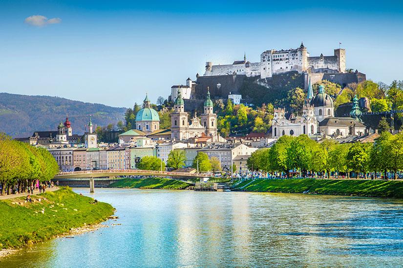 image Autriche Salzbourg panorama  it