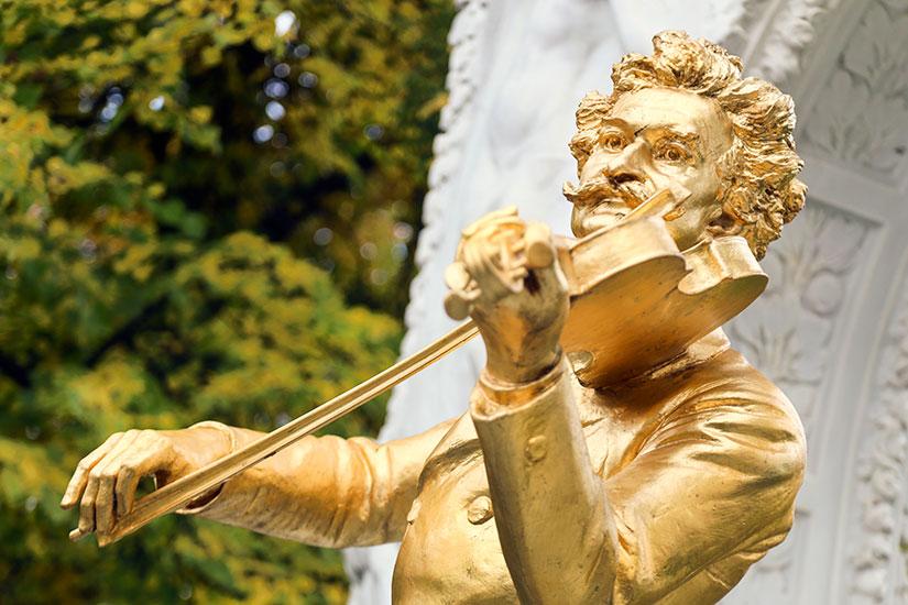 image Autriche Vienne Johann Strauss Statue  it