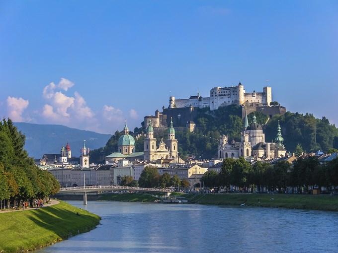 image Autriche salzbourg vue ensemble