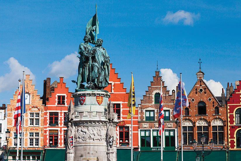 image Belgique Bruges Batiments  fo