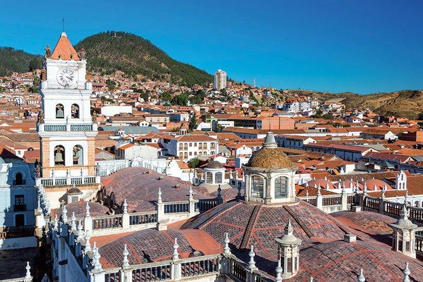 image Bolivie Sucre Panorama  fo