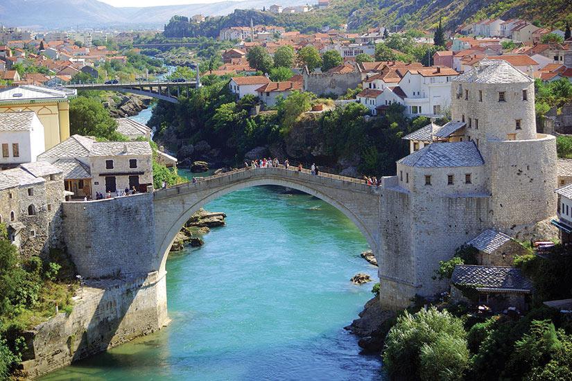 image Bosnie Herzegovine Mostar Pont  fo