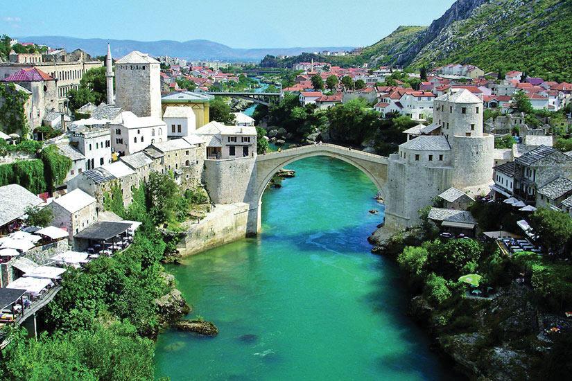 image Bosnie Herzegovine Pont de mostar  fo