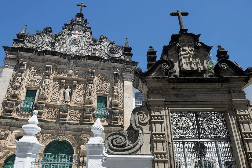 image Bresil Bahia Eglise Facade  fo