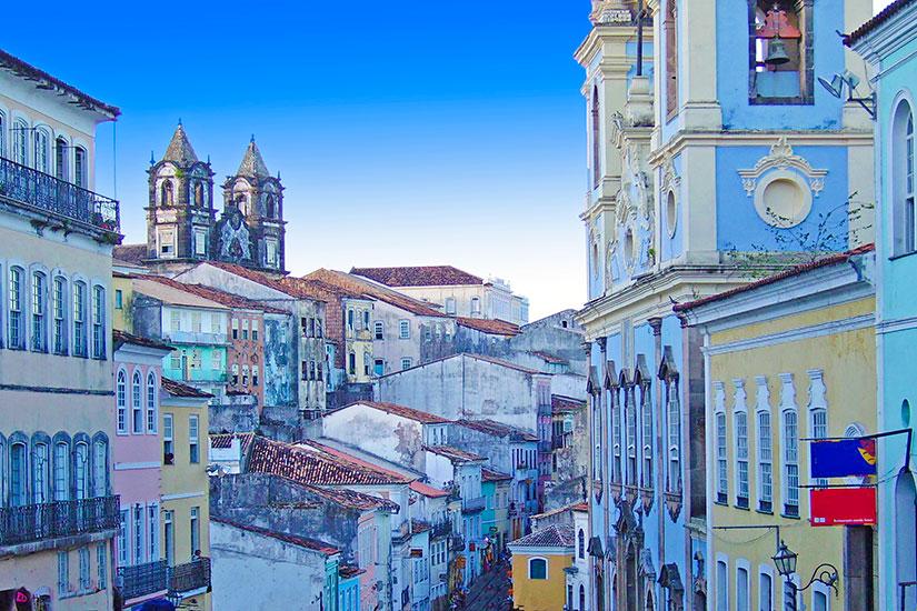 image Bresil Salvador de Bahia Pelourinho  fo