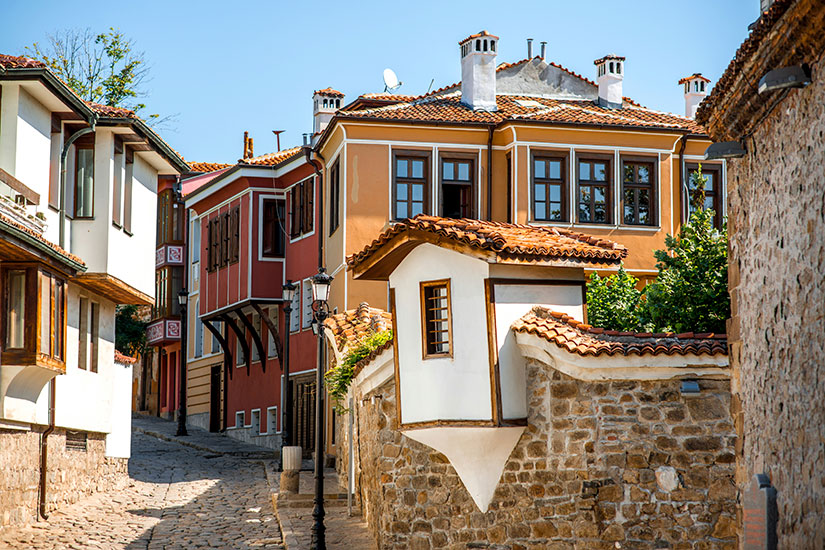 image Bulgarie Plovdiv vieille ville  it