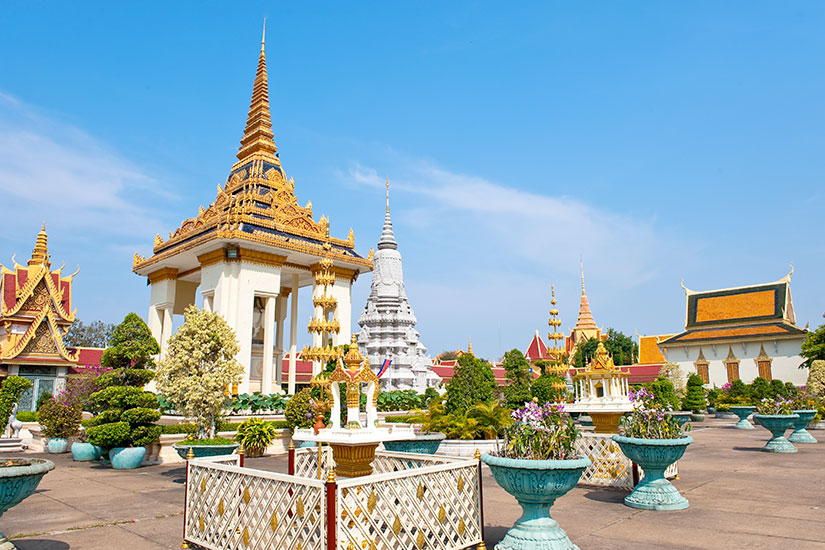 image Cambodge Phnom Penh Grand Palais royal  it