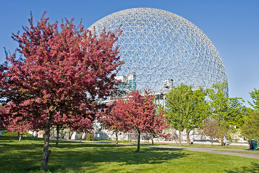 image Canada Montreal Biosphere  it