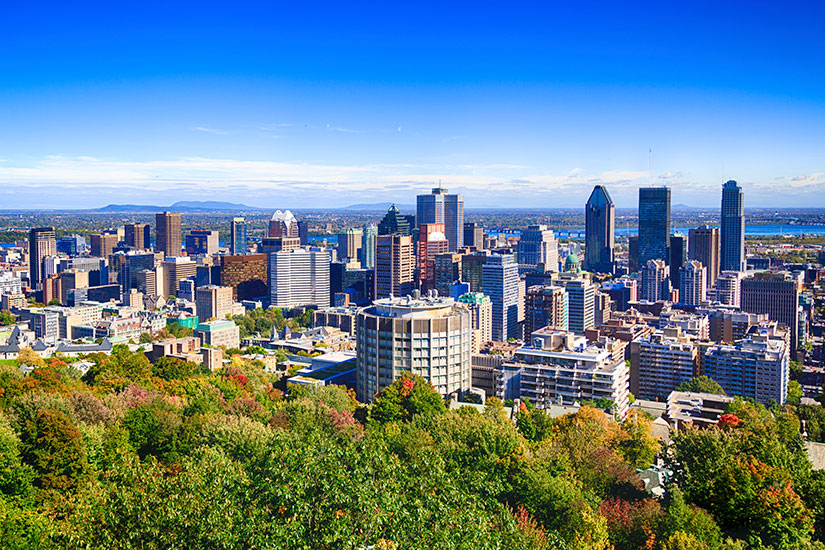 image Canada Montreal Horizon urbain  it