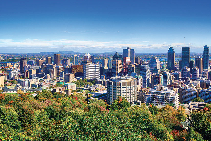 image Canada Montreal Vue aerienne  it