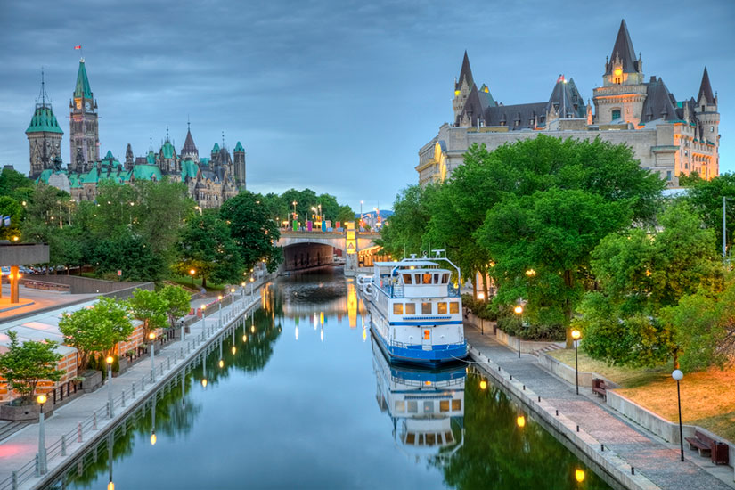 image Canada Ottawa Parlement Canal  it