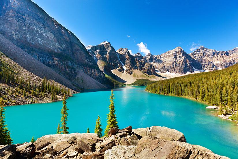 image Canada Parc National Banff Lac Moraine  it