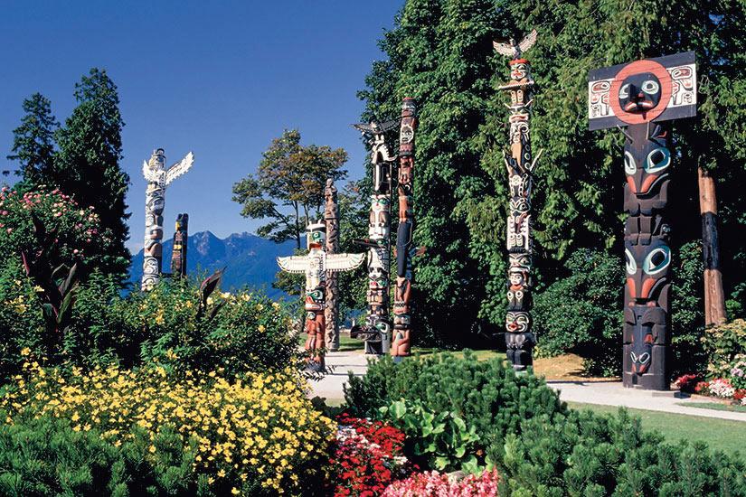 image Canada Vancouver Parc stanley totem  it