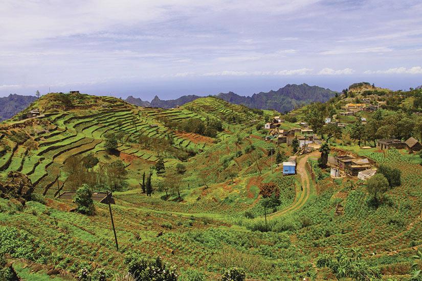 image Cap Vert Village au sommet de la montagne  it