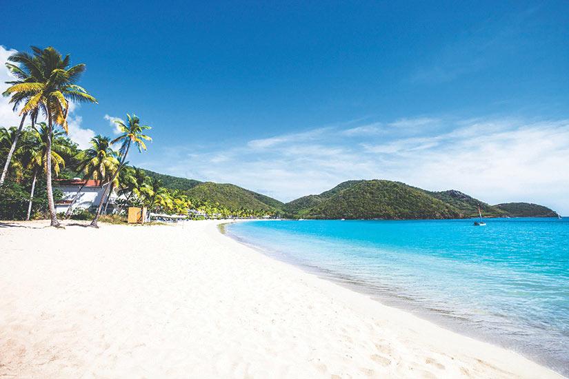 image Caraibes Antigua et Barbuda Plage sur la mer des Caraibes et Carisle Bay  it
