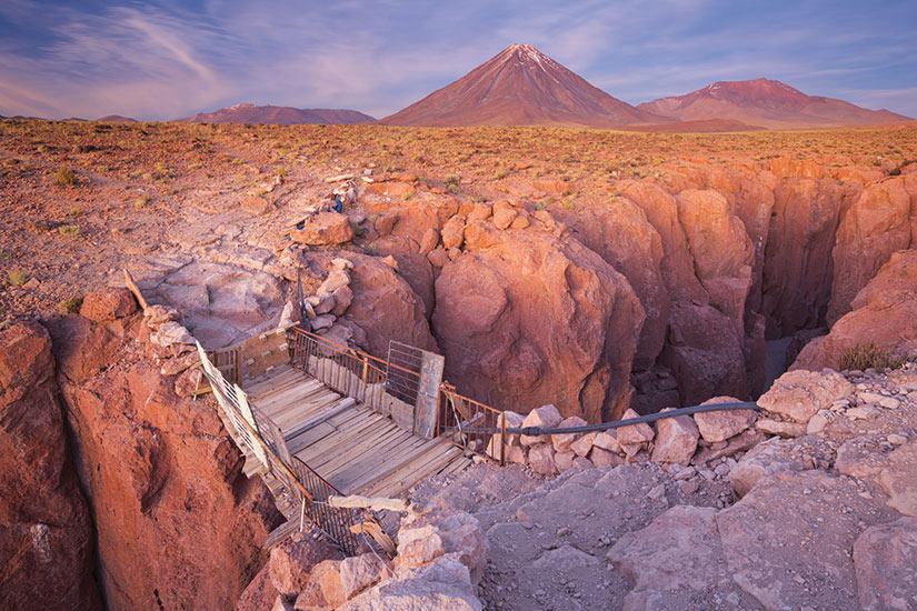image Chili San Pedro de Atacama Licancabur canyon  it