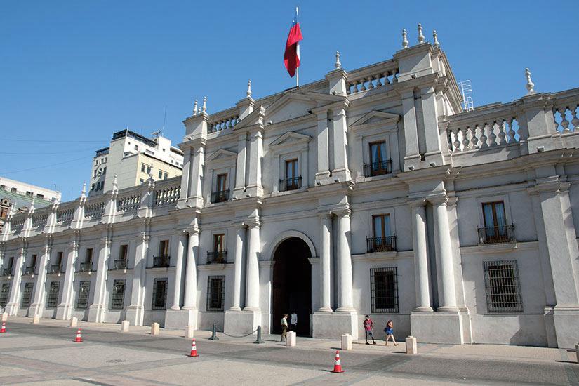 image Chili Santiago Palais La Moneda  fo