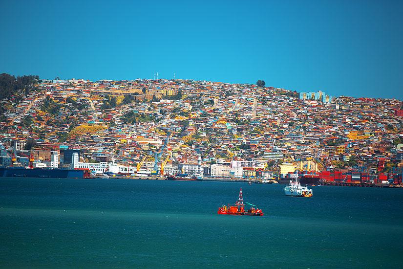 image Chili Valparaiso panorama  fo