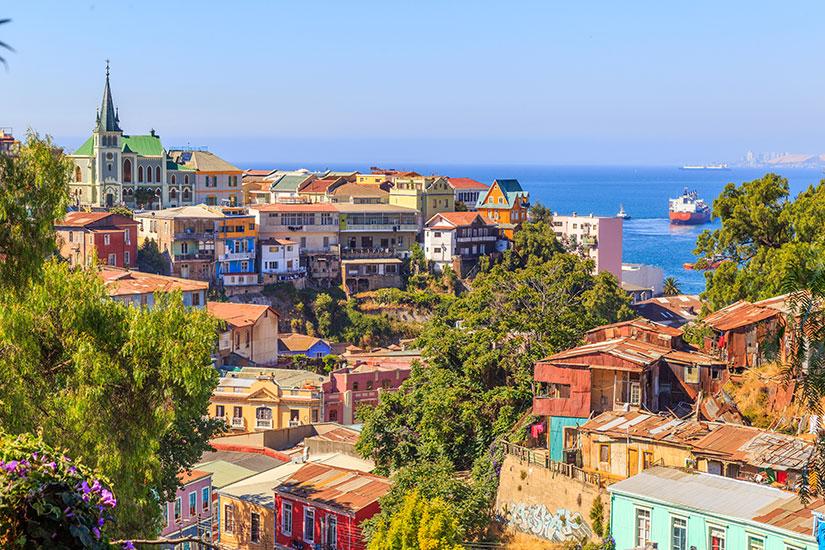 image Chili Valparaiso ville couleurs  fo