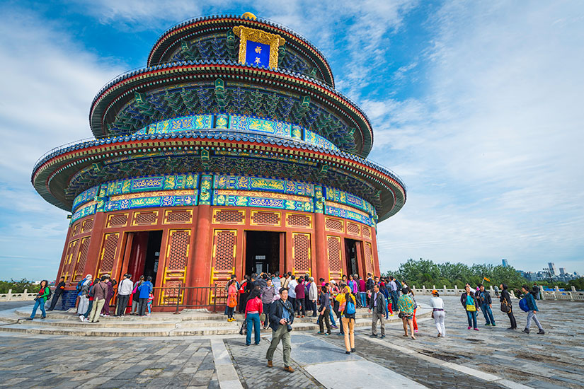image Chine Beijing Temple du ciel  it