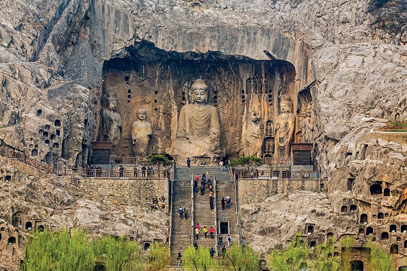 image Chine Luoyang grottes bouddhiques de longmen 07 it_486745309