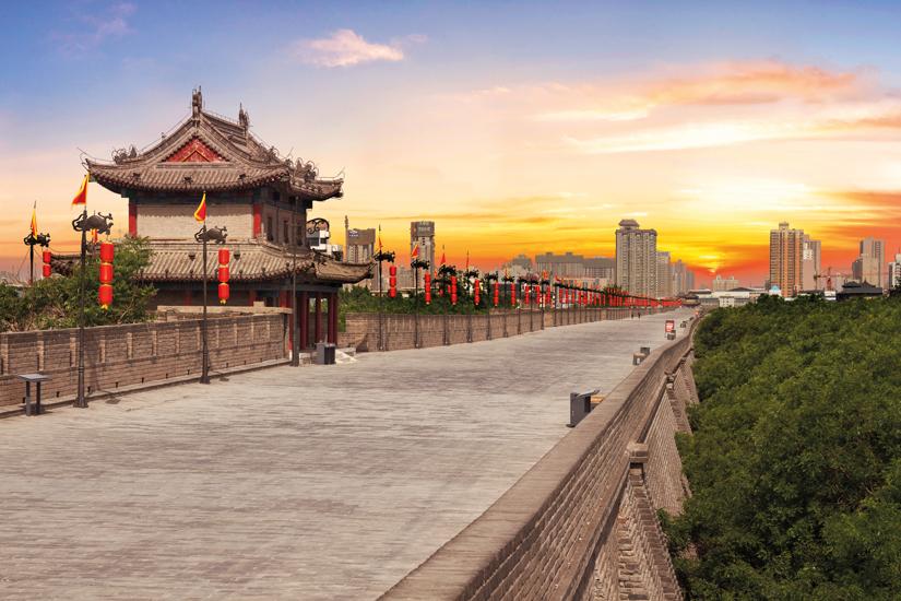 image Chine mur de la ville de xian 34 as_67601950