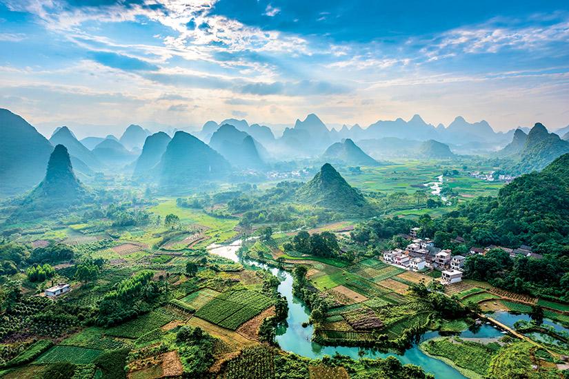 image Chine region gullin  it
