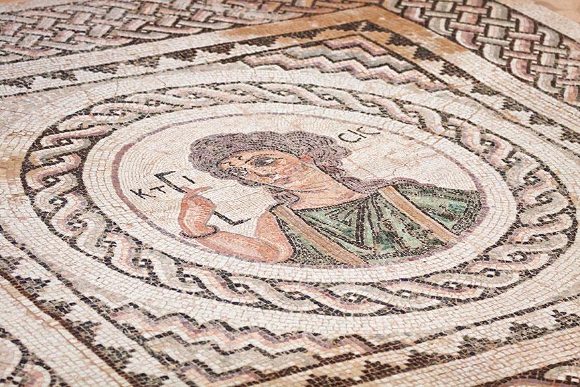 image Chypre Kourion mosaique  fo